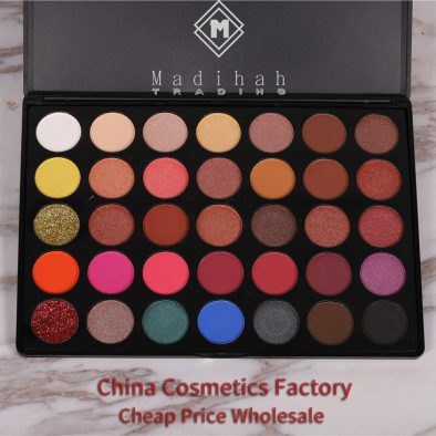 Madihah 35 colors makeup eyeshadow palettes 02