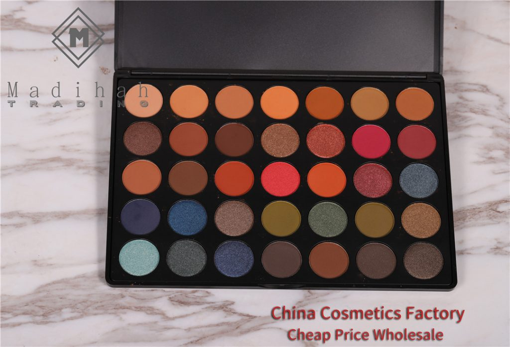 Madihah 35 colors makeup eyeshadow palettes 04