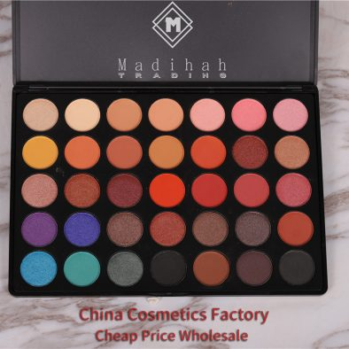 Madihah 35 colors makeup eyeshadow palettes 05