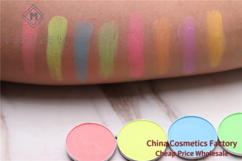 Madihah multicolor eyeshadow swatches 01