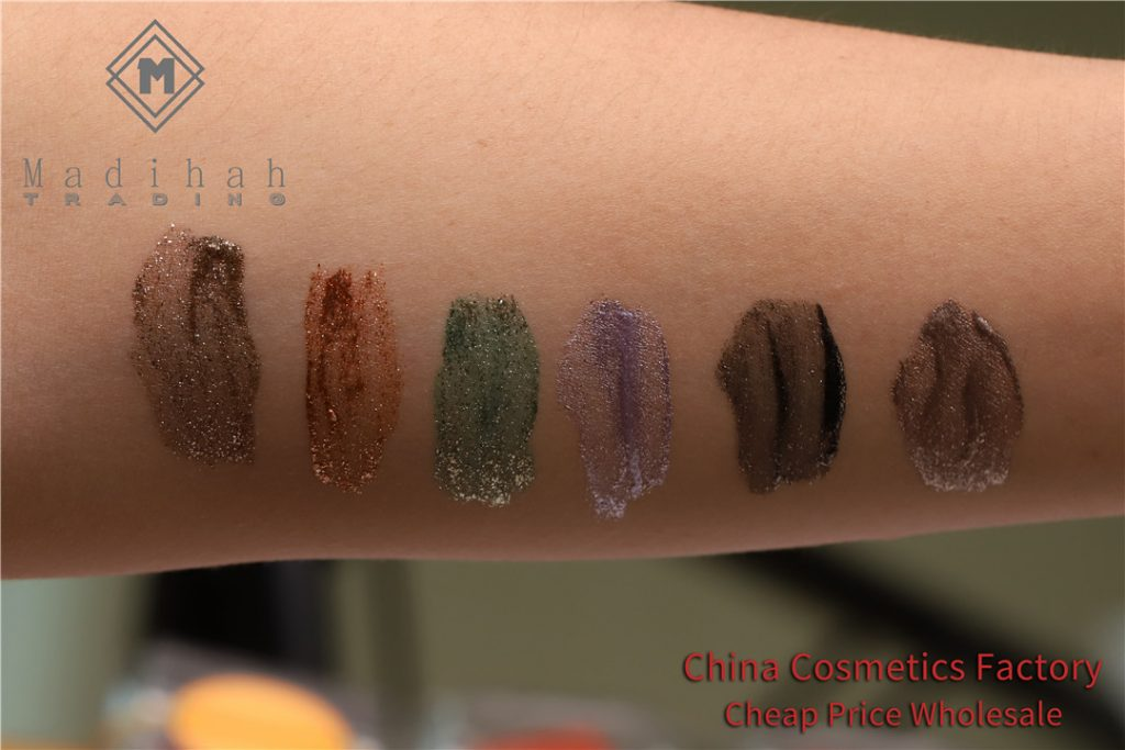 Madihah glitter liquid eyeshadow swatches 01