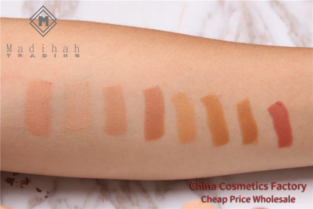 Madihah makeup concealer stick swatches