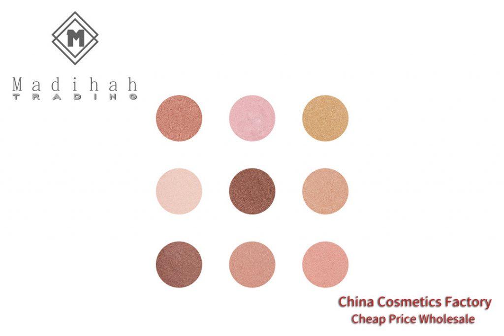 Highlighter Powder Palette Swatches