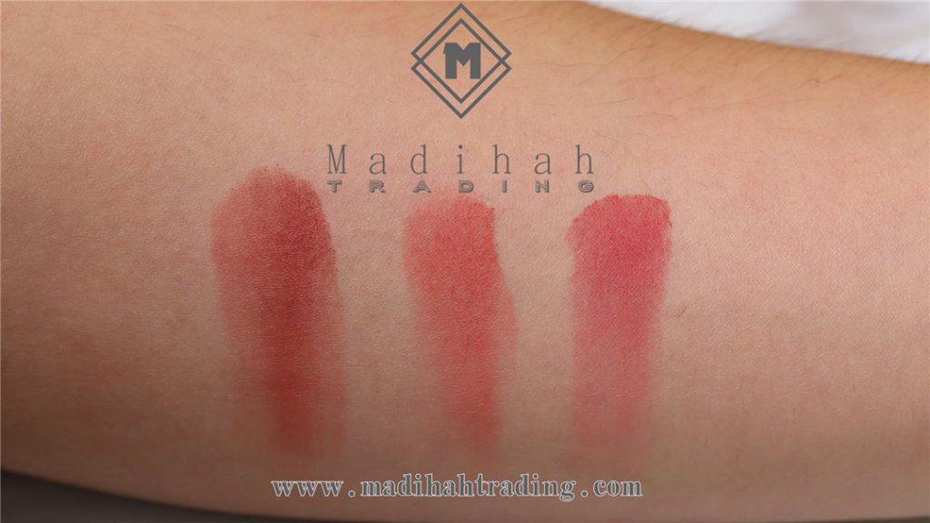 Madihah Blushes Powder Swatches