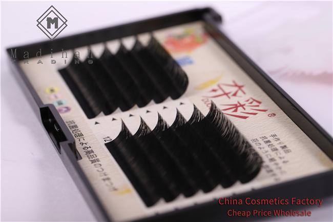 Madihah Classic Single Round Hair Eyelashesindividual eyelash extesions 5
