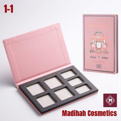 Madihah Cosmetics Customized Eyeshadow Palette Packaging 1-1