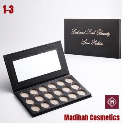 Madihah Cosmetics Customized Eyeshadow Palette Packaging 1-3