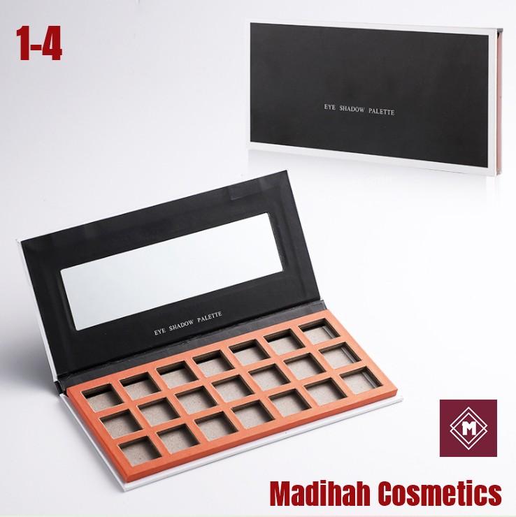 Madihah Cosmetics Customized Eyeshadow Palette Packaging 1-4