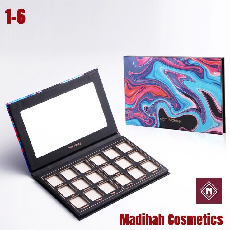 Madihah Cosmetics Customized Eyeshadow Palette Packaging 1-6