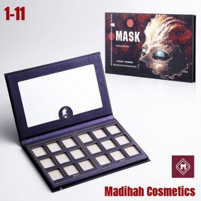 Madihah Cosmetics Customized Eyeshadow Palette Packaging 1-11