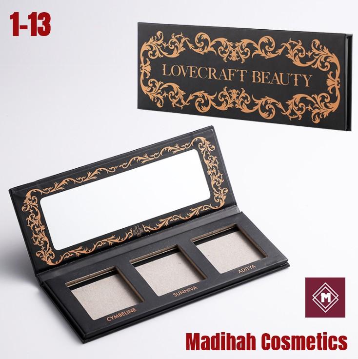 Madihah Cosmetics Customized Eyeshadow Palette Packaging 1-13