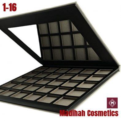 Madihah Cosmetics Customized Eyeshadow Palette Packaging 1-16