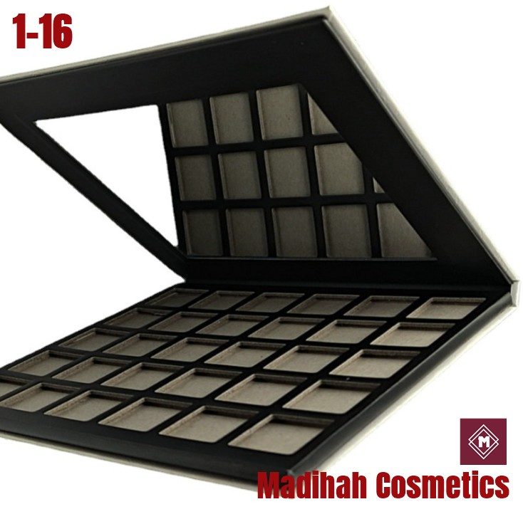 Madihah Cosmetics Customized Eyeshadow Palette Packaging 1-16