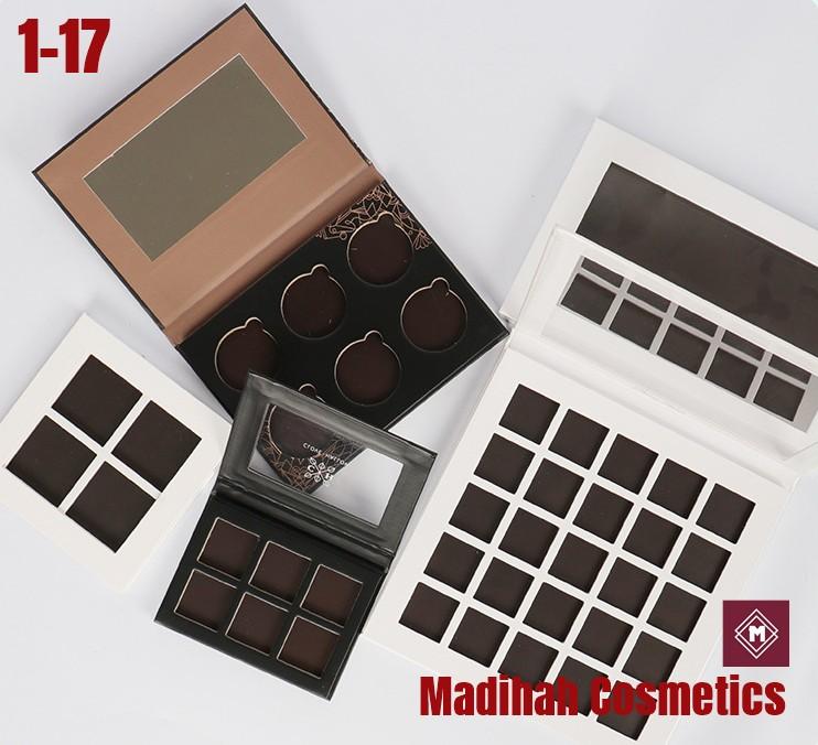 Madihah Cosmetics Customized Eyeshadow Palette Packaging 1-17