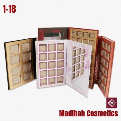 Madihah Cosmetics Customized Eyeshadow Palette Packaging 1-18