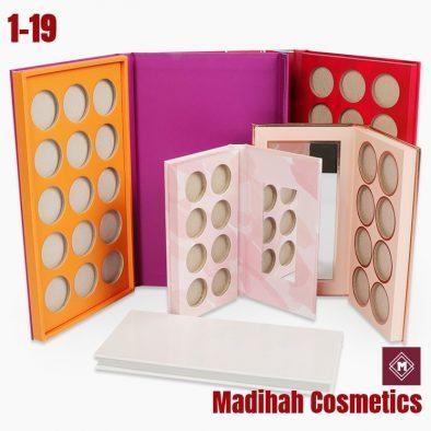 Madihah Cosmetics Customized Eyeshadow Palette Packaging 1-19